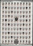 СССР 1988 год. Стандарт (ном. 1 к.). Надпечатка провизориев Украины 1992 года, лист.