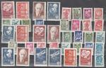 СССР. Стандартные выпуски марок 1976, 1977 и 1978 годов, (12+12+15 марок)