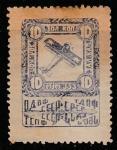 Благотворительная марка. ОДВФ СССР. 8 Всесоюзный выпуск 1924 год, 10 зол. коп.
