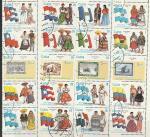Куба 1990 год. Национальные Костюмы Латинской Америки, 20 марок, (гашёные)