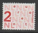 Нидерланды 2002 год. Стандартный выпуск, ном. 2 с., 1 марка