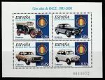 Испания 2003 год. 100 лет Испанскому Королевскому автоклубу, блок (145.3855)
