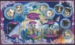Габон 2020 год. Советская космическая программа, малый лист (гашёный)