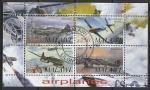 Малави 2010 год. Истребители II Мировой войны, малый лист (гашёный)