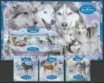 Габон 2020 год. Собаки (II), 3 марки + блок (гашёные)
