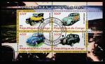 Конго 2010 год. Ретро автомобили, малый лист