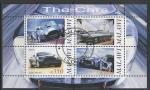 Малави 2010 год. Спортивные автомобили, малый лист (гашёный)