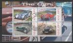 Малави 2010 год. Классические автомобили, малый лист (гашёный)