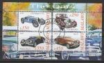 Малави 2010 год. Ретро автомобили, малый лист (гашёный)