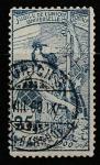 Швейцария 1900 год. 25 лет Всемирному почтовому союзу. Аллегория, 1 марка из серии (гашёная)