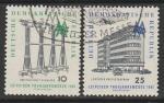 ГДР 1961 год. Лейпцигская ярмарка, 2 марки (гашёные)