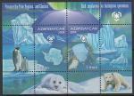 Азербайджан 2009 год. Охрана полярных областей и ледников, блок (910.319)