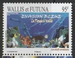 Уоллис и Футуна 2008 год. Туризм. Аквалангисты, 1 марка (065.963)