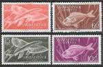 Испанская Сахара 1954 год. Рыбы. 4 марки. (н