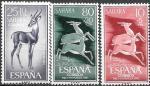 Испанская Сахара 1961 год. Газель-доркас. 3 марки