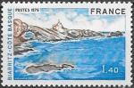 Франция 1976 год. Стандарт. Туризм. Город Биарриц. 1 марка