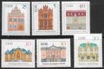 ГДР 1969 год. Архитектура, 6 марок
