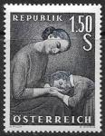 Австрия, 1958. День матери. 1 марка
