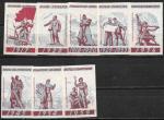 Набор спичечных этикеток. Великие ( знаменательные ) даты. 1959 год. 8 штук