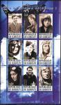 Джибути 2011 год. Известные летчики-1, лист