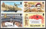 Остров Мэн, 1981. 60 лет Королевскому британскому Легиону, 4 марки