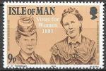 Остров Мэн, 1981. 100 лет избирательному праву женщин. 1 марка