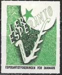Непочтовая марка Эсперанто. Для Дании