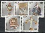 Россия 1994 год, Русский Фарфор, серия 5 марок
