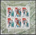 Россия 1998 год, Олимпиада в Нагано, малый лист