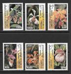 Орхидеи. Камбоджа. 2000 год. 6 марок