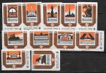 Набор спичечных этикеток. 30 лет освобождения Ленинграда от освобождения блокады 1974 г. 11 шт.
