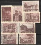 Набор спичечных этикеток. Сталинград. 8 шт. 1959 год