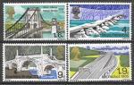 Великобритания, 1968 г. Мосты. 4 марки