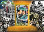 Кот дИвуар 2013 год. Кубинский революционер Фидель Кастро. Блок