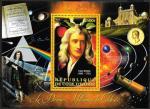 Кот дИвуар 2012 год. Английский физик, математик, механик и астроном Исаак Ньютон и его открытия. Блок